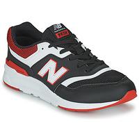 Schuhe Jungen Sneaker Low New Balance 997 Schwarz / Rot