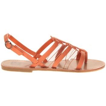 Schuhe Damen Sandalen / Sandaletten Cassis Côte d'Azur Hanako Orange Orange