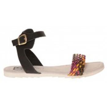 Schuhe Damen Sandalen / Sandaletten Cassis Côte d'Azur Sandales Jerk Noir Schwarz