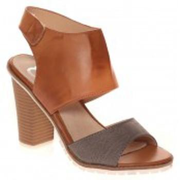 Schuhe Damen Sandalen / Sandaletten Cassis Côte d'Azur Escarpins Nacido Braun