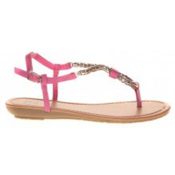 Schuhe Damen Zehensandalen Cassis Côte d'Azur Takwa Fushia Rose