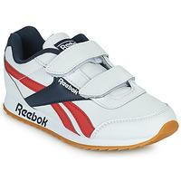 Schuhe Kinder Sneaker Low Reebok Classic REEBOK ROYAL CLJOG 2 2V Weiss / Marine / Rot
