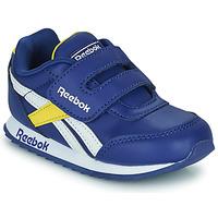 Schuhe Kinder Sneaker Low Reebok Classic REEBOK ROYAL CLJOG 2  KC Blau / Gelb / Weiss