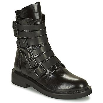 Schuhe Damen Boots Mimmu MINO Schwarz