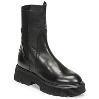 Schuhe Damen Low Boots Mimmu VITELLO Schwarz