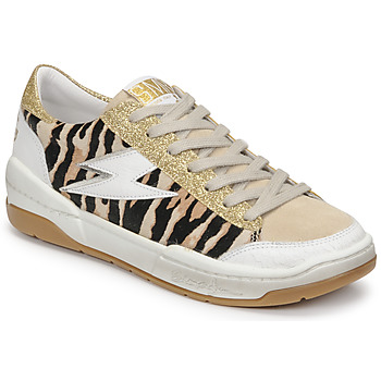 Schuhe Damen Sneaker Low Semerdjian THEO Beige / Gold / Braun