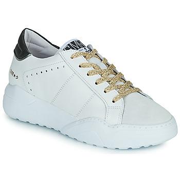 Schuhe Damen Sneaker Low Semerdjian KYLE Weiss / Beige / Schwarz