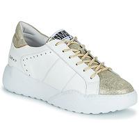 Schuhe Damen Sneaker Low Semerdjian KYLE Weiss / Gold