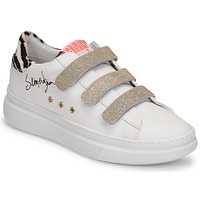 Schuhe Damen Sneaker Low Semerdjian BARRY Weiss / Gold