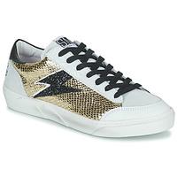 Schuhe Damen Sneaker Low Semerdjian ELISE Beige / Gold / Schwarz