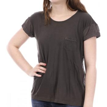 Kleidung Damen T-Shirts Sun Valley SV-AKRON Braun