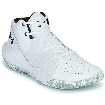 Schuhe Herren Basketballschuhe Under Armour JET '21 Weiss / Weiss