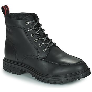 Schuhe Herren Boots Base London ROCHDALE Schwarz