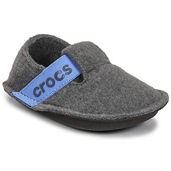 Schuhe Kinder Hausschuhe Crocs CLASSIC SLIPPER K Grau / Blau