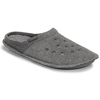 Schuhe Hausschuhe Crocs CLASSIC SLIPPER Grau
