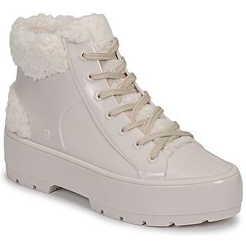 Schuhe Damen Boots Melissa MELISSA FLUFFY SNEAKER AD Beige / Weiss