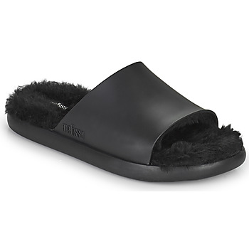 Schuhe Damen Pantoletten Melissa MELISSA FLUFFY SIDE AD Schwarz