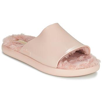 Schuhe Damen Pantoletten Melissa MELISSA FLUFFY SIDE AD Rose
