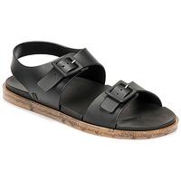Schuhe Damen Sandalen / Sandaletten Melissa MELISSA WIDE SANDAL AD Schwarz