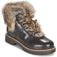 Schuhe Damen Boots Kimberfeel ASTANA Braun