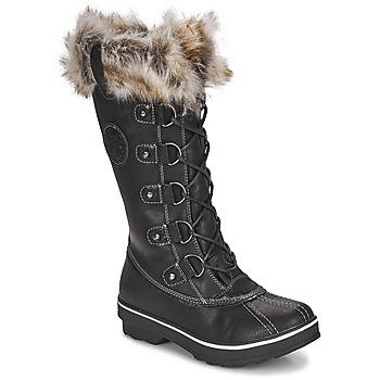 Schuhe Damen Schneestiefel Kimberfeel BEVERLY Schwarz