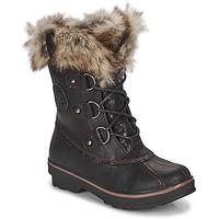 Schuhe Damen Schneestiefel Kimberfeel CAMILLE Schwarz