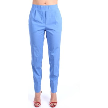 Kleidung Damen Chinohosen Anna Seravalli S914 Chino Damen Blau Blau