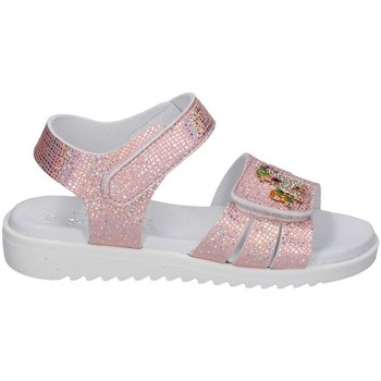 Schuhe Mädchen Sandalen / Sandaletten Lelli Kelly - Sandalo rosa/arg LK 1506 ROSA-ARGENTO