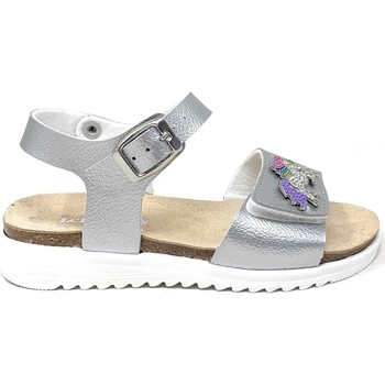 Schuhe Mädchen Sandalen / Sandaletten Lelli Kelly - Sandalo argento LK 1505 ARGENTO