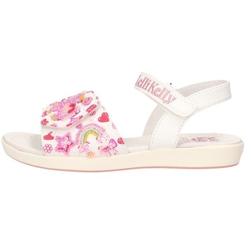 Schuhe Jungen Wassersportschuhe Lelli Kelly - Sandalo bianco LK 7400 BIANCO