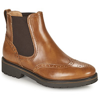 Schuhe Damen Boots NeroGiardini ARTICHO Cognac