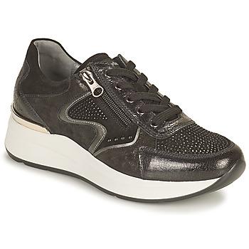 Schuhe Damen Sneaker Low NeroGiardini CHOU Schwarz
