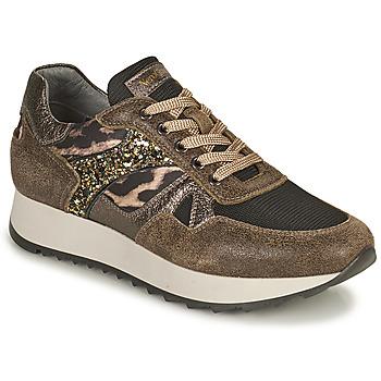Schuhe Damen Sneaker Low NeroGiardini AVOCATO Kaki / Leopard