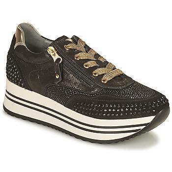 Schuhe Damen Sneaker Low NeroGiardini  Schwarz