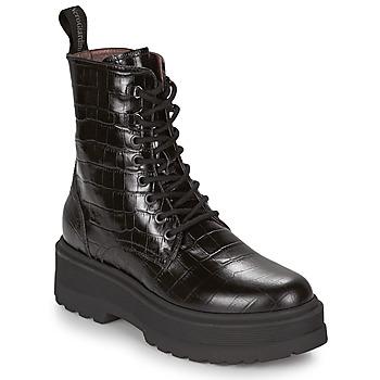 Schuhe Damen Boots NeroGiardini CATALONIO Schwarz