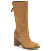 Schuhe Damen Klassische Stiefel NeroGiardini CITROUILLO Cognac