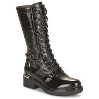 Schuhe Damen Klassische Stiefel NeroGiardini COURGO Schwarz