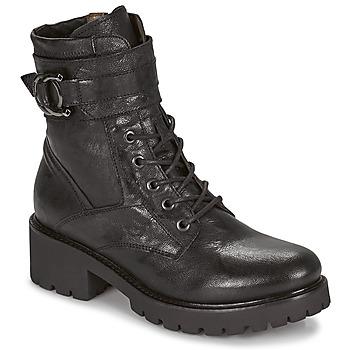 Schuhe Damen Boots NeroGiardini COURGETTO Schwarz