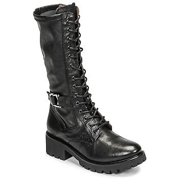 Schuhe Damen Klassische Stiefel NeroGiardini CRESSONO Schwarz