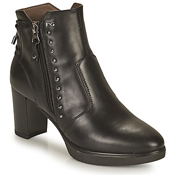 Schuhe Damen Low Boots NeroGiardini DACHINO Schwarz