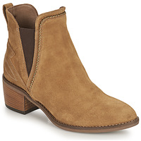 Schuhe Damen Low Boots NeroGiardini FLAGEOLETO Cognac
