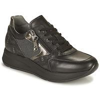 Schuhe Damen Sneaker Low NeroGiardini GIROMONO Schwarz