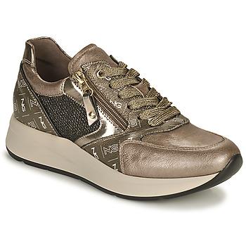 Schuhe Damen Sneaker Low NeroGiardini GIROMONO Gold
