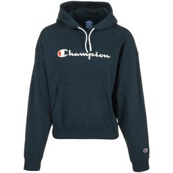 Kleidung Damen Sweatshirts Champion Hooded Sweatshirt Wn's Blau