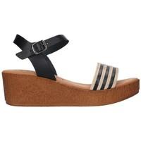 Schuhe Damen Sandalen / Sandaletten Lola Rico 911 Mujer Negro noir