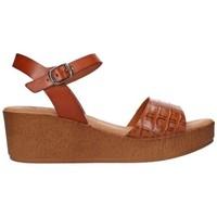 Schuhe Damen Sandalen / Sandaletten Lola Rico 913 Mujer Cuero marron