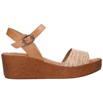 Schuhe Damen Sandalen / Sandaletten Lola Rico 913 Mujer Beige beige