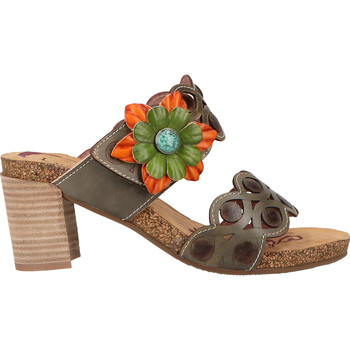 Schuhe Damen Pantoletten / Clogs Laura Vita Pantoletten Grau