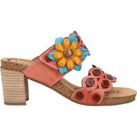 Schuhe Damen Pantoletten / Clogs Laura Vita Pantoletten Rose