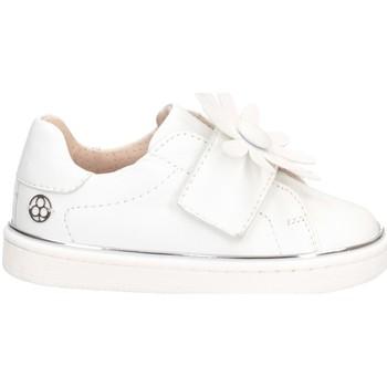 Schuhe Mädchen Sneaker Low Florens E0131A0B Sneaker Kind WEISS WEISS
